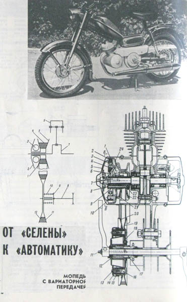 Советские мопеды